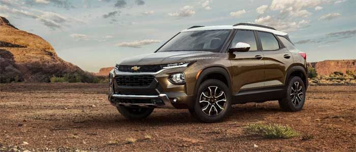 2021 Chevrolet Trailblazer starts at under $20,000