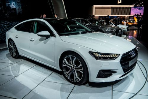 The 2019 Audi A7 makes its North American debut at the Detroit Auto Show
