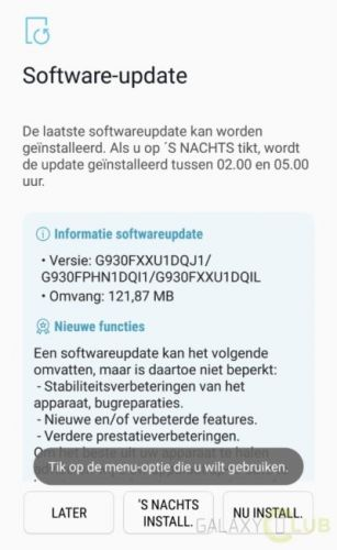 October 2017 Security Patch Hits Samsung Galaxy S7 & S7 Edge