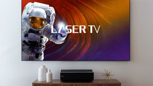 Hisense L10E Laser TV beams 100-inch, 4K images onto your wall