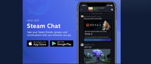 Steam Chat goes live on iOS and Android