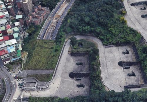 Google Earth Accidentally Reveals Taiwan's Secret Military Sites
