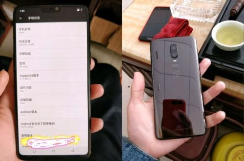More Specifications Leaked For The OnePlus 6 Smartphone