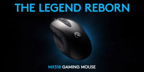 Logitech is relaunching the MX518 and I've never been so excited for a mouse