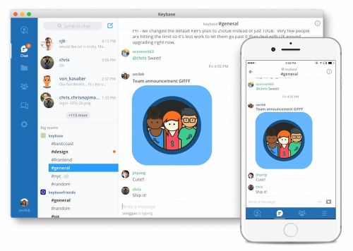 Keybase Launches Teams, a Free End-to-End Encrypted Alternative to Slack