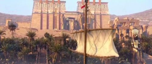 Assassin's Creed: Origins - How Ubisoft created the art for the massive open world