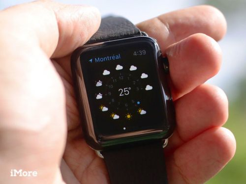 Your Apple Watch is a tiny weather station - Here's how to use it