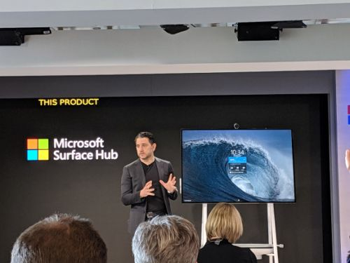 Microsoft's Surface Hub 2S starts at $8,999, ships in June