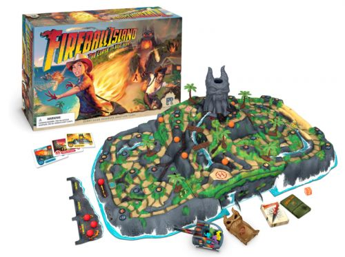 Fireball Island review: A classic 1986 board game returns in style