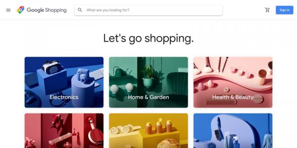 Google Shopping with personalized homepage live in the U.S