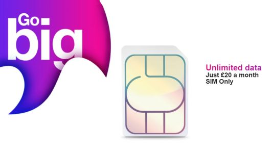 Three extends best ever SIM only deal.again: £20 per month for unlimited data