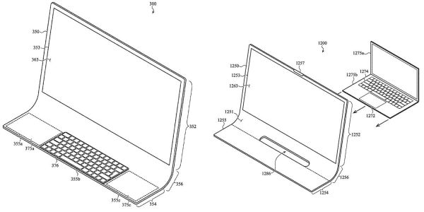 After the iPhone, Apple patent imagines the iMac as a single slab of glass