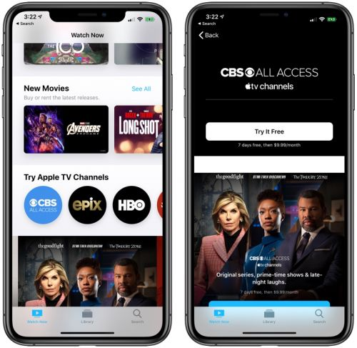 Apple Launching Discounted $9.99 Per Month CBS All Access and Showtime Bundle for Apple TV+ Subscribers
