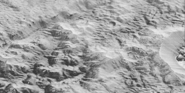 Enigmatic ridges on Pluto may be the remains of vanished nitrogen glaciers