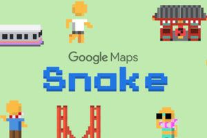 Google Maps update brings Nokia's classic Snake game to everyone