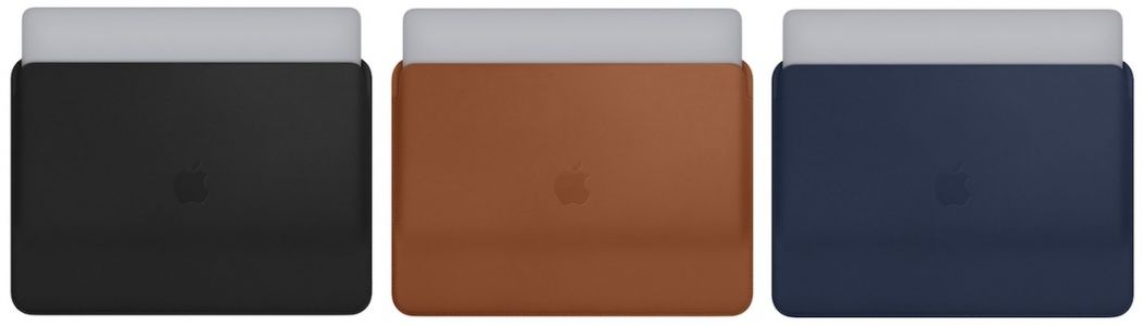 Apple Debuts New Leather Sleeves for 13-Inch and 15-Inch MacBook Pro