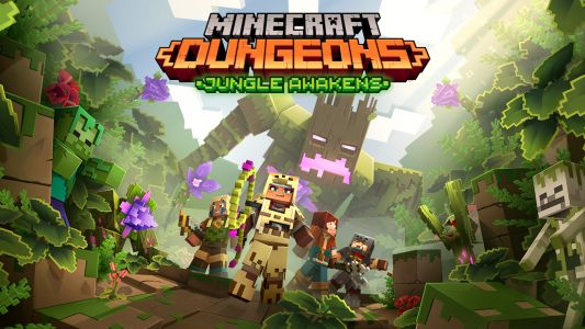 Minecraft Dungeons is getting two DLC packs that could almost double the size of the game