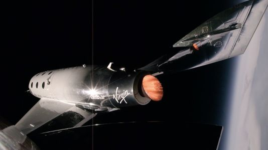 Virgin Galactic's passenger spaceship completes its third hypersonic test flight