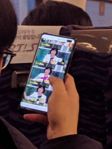 Another Real-Life Samsung Galaxy S10 Pictured In The Wild