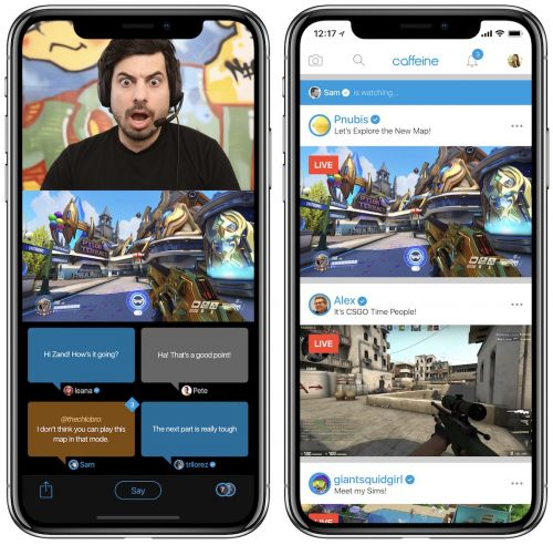 Former Apple Executives Launch New Social Gaming Broadcast Service 'Caffeine'
