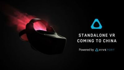 HTC adds a standalone Vive VR headset for China