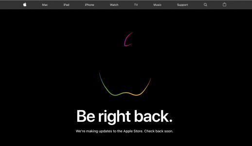 Apple Store is down as iPad and iMac updates rumored