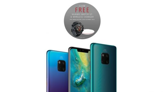 Check out the freebies being offered with new Huawei Mate 20 Pro pre-order deals