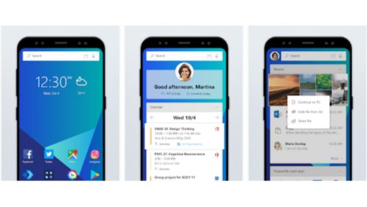 Microsoft Launcher Beta for Android released with bug fixes, new features