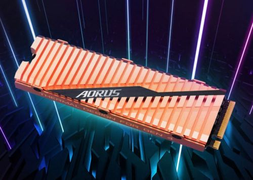 Gigabyte AORUS NVMe Gen4 SSD with PCIe 4 introduced