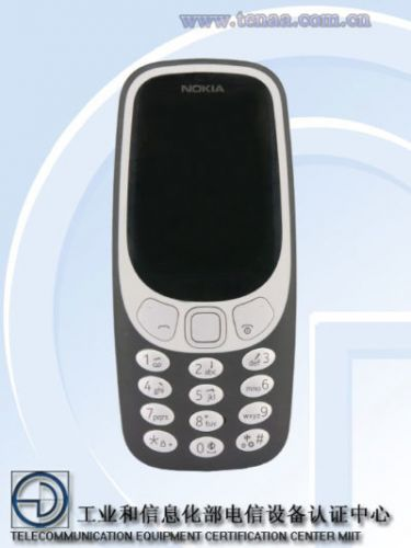 4G LTE-Enabled Nokia 3310 (2017) Certified By TENAA