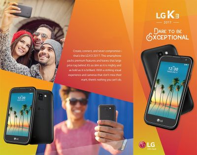 LG K3 (2017) Available At US Cellular For Only $19.99