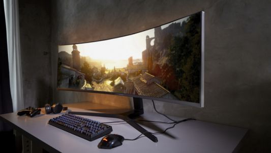 New Samsung CRG9 49 inch 4K curved gaming monitor revealed