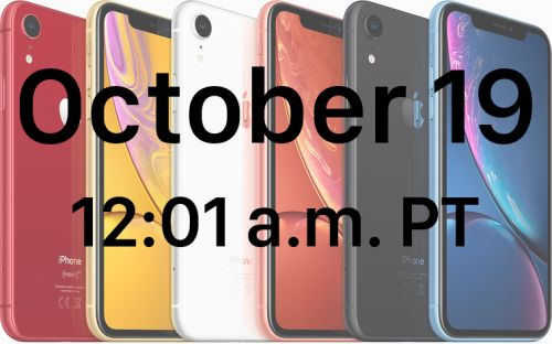 When You Can Pre-Order the iPhone XR in Every Time Zone