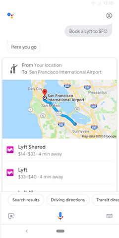 You Can Now Book Rides With Google Assistant