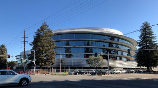 Construction of Apple's stunning 'second spaceship' campus in Sunnyvale nears completion