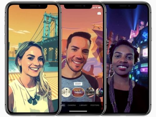 "Apple to update Clips app with ""Selfie Scenes"" for iPhone X"