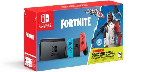 Fortnite Nintendo Switch Bundle Available From October 5th
