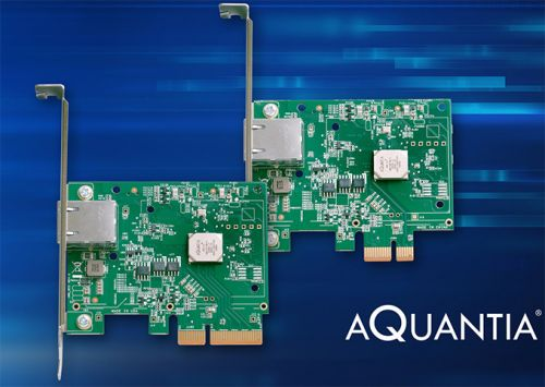 Aquantia to Sell Its 5G and 10G Network Cards for $59 and $69 on Black Friday