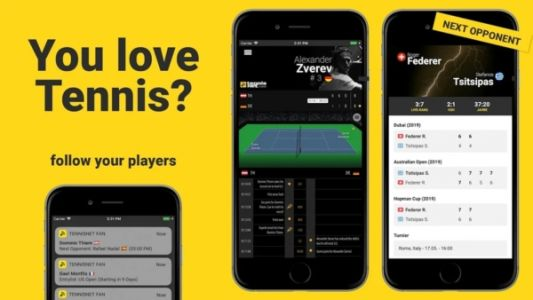 Best Android Apps - Tennis - June 2019