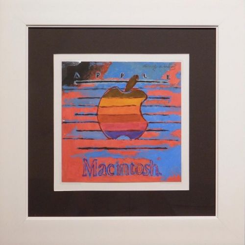 Classic 'Macintosh' Painting by Andy Warhol Estimated to Fetch Up to $30,000 at Auction Next Month