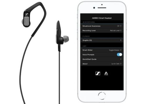 Apogee Sennheiser Black AMBEO Smart Headset Available Exclusively At Apple