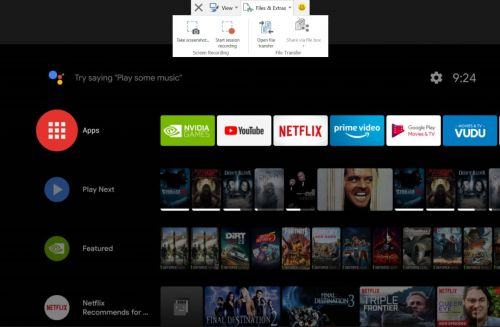 TeamViewer Now Lets You Take Android TV Screenshots & Transfer Files