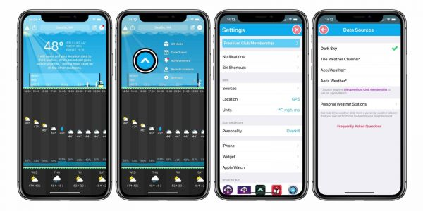 Carrot Weather gets major update with new weather source options, Apple Watch complications, much more