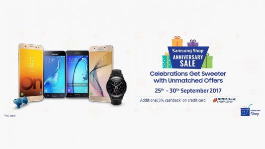 Samsung announces special Anniversary Sale on its online store