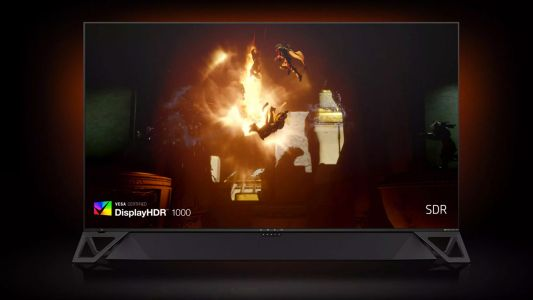 Your next TV could be this HP Omen X Emperium Nvidia Shield-equipped giant PC gaming monitor
