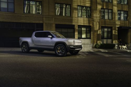 Rivian reveals 400-mile range electric truck and SUV, starting at $61,500