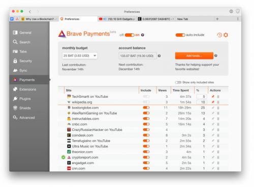 Brave Browser Now Allows YouTubers To Earn Cryptocurrency