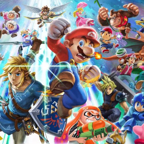 Pick up Super Smash Bros Ultimate on sale with a $10 promo credit