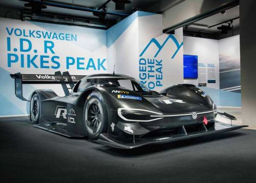 VW's I.D. R Pikes Peak Racer Gets Official