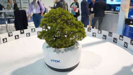 TDK's AI Bonsai Follows Sunlight, Asks For Water